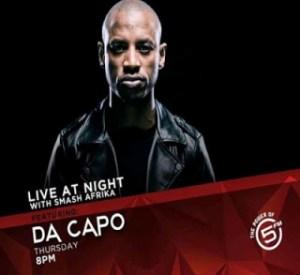 Da Capo - Live at Night on 5FM (09-01-2020)